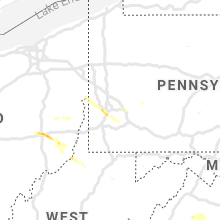 Regional Hail Map for Pittsburgh, PA - Saturday, September 28, 2019