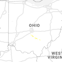 Regional Hail Map for Columbus, OH - Sunday, September 29, 2019
