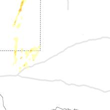 Regional Hail Map for Odessa, TX - Sunday, September 29, 2019