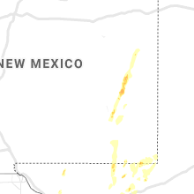 Regional Hail Map for Roswell, NM - Sunday, September 29, 2019