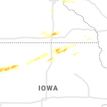 Regional Hail Map for Mason City, IA - Monday, September 30, 2019