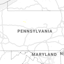 Regional Hail Map for State College, PA - Thursday, October 3, 2019