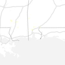 Regional Hail Map for Mobile, AL - Friday, October 4, 2019