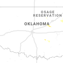 Regional Hail Map for Oklahoma City, OK - Saturday, October 5, 2019