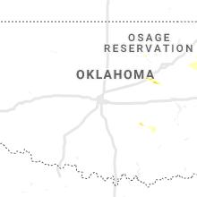 Hail Map for oklahoma-city-ok 2019-10-05