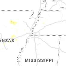 Regional Hail Map for Memphis, TN - Sunday, October 6, 2019