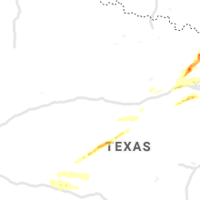 Regional Hail Map for Abilene, TX - Sunday, October 20, 2019
