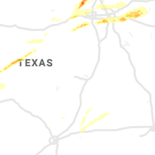 Regional Hail Map for Killeen, TX - Sunday, October 20, 2019