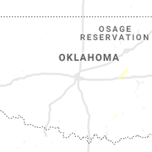 Regional Hail Map for Oklahoma City, OK - Tuesday, October 29, 2019