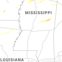 Regional Hail Map for Jackson, MS - Saturday, November 30, 2019