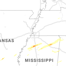 Regional Hail Map for Memphis, TN - Saturday, November 30, 2019