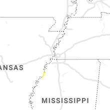 Regional Hail Map for Memphis, TN - Friday, January 10, 2020