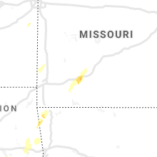 Regional Hail Map for Springfield, MO - Friday, January 10, 2020