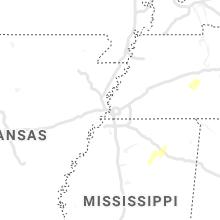 Regional Hail Map for Memphis, TN - Saturday, January 11, 2020