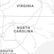 Regional Hail Map for Raleigh, NC - Monday, January 13, 2020