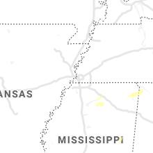 Hail Map for memphis-tn 2020-02-05