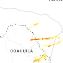 Regional Hail Map for Del Rio, TX - Thursday, March 19, 2020