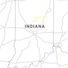 Regional Hail Map for Indianapolis, IN - Friday, March 27, 2020