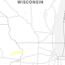 Regional Hail Map for Madison, WI - Friday, March 27, 2020
