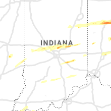 Regional Hail Map for Indianapolis, IN - Saturday, March 28, 2020