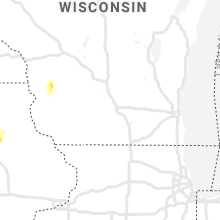 Regional Hail Map for Madison, WI - Saturday, March 28, 2020