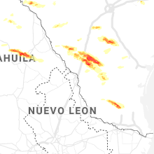 Regional Hail Map for Laredo, TX - Friday, April 3, 2020