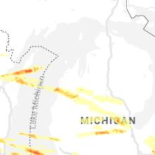 Regional Hail Map for Traverse City, MI - Tuesday, April 7, 2020