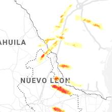 Regional Hail Map for Laredo, TX - Thursday, April 9, 2020