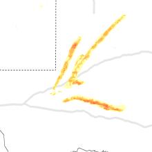 Regional Hail Map for Odessa, TX - Friday, April 10, 2020