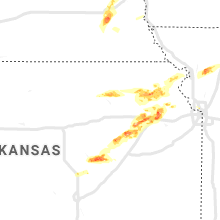 Regional Hail Map for Manhattan, KS - Saturday, April 11, 2020
