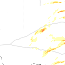 Regional Hail Map for Odessa, TX - Saturday, April 11, 2020