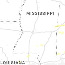 Regional Hail Map for Jackson, MS - Thursday, April 23, 2020