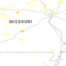 Regional Hail Map for Salem, MO - Tuesday, April 28, 2020