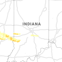 Regional Hail Map for Indianapolis, IN - Saturday, May 2, 2020