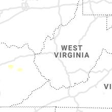 Regional Hail Map for Charleston, WV - Sunday, May 3, 2020