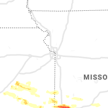 Regional Hail Map for Kansas City, MO - Sunday, May 3, 2020