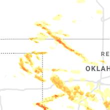 Regional Hail Map for Woodward, OK - Thursday, May 7, 2020