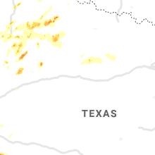 Regional Hail Map for Abilene, TX - Wednesday, May 13, 2020