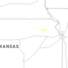 Regional Hail Map for Manhattan, KS - Wednesday, May 13, 2020