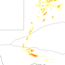 Regional Hail Map for Odessa, TX - Wednesday, May 13, 2020