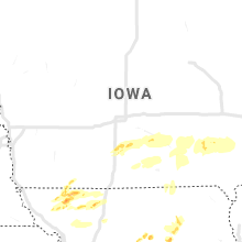 Regional Hail Map for Des Moines, IA - Thursday, May 14, 2020