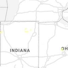 Regional Hail Map for Fort Wayne, IN - Thursday, May 14, 2020