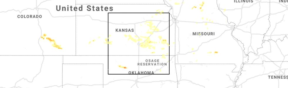 Interactive Hail Maps Hail Map For Wichita Ks