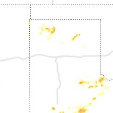 Regional Hail Map for Amarillo, TX - Friday, May 15, 2020
