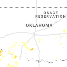 Regional Hail Map for Oklahoma City, OK - Friday, May 15, 2020