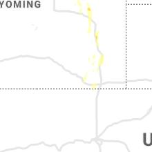 Regional Hail Map for Laramie, WY - Tuesday, May 19, 2020
