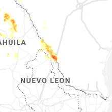 Regional Hail Map for Laredo, TX - Wednesday, May 20, 2020