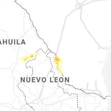 Regional Hail Map for Laredo, TX - Thursday, May 21, 2020