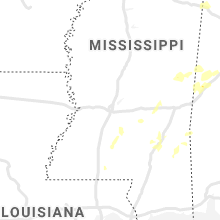 Regional Hail Map for Jackson, MS - Friday, May 22, 2020