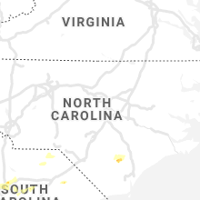 Regional Hail Map for Raleigh, NC - Friday, May 22, 2020